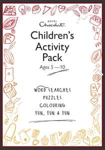 Free printable kid's activity packs from Hotel Chocolat