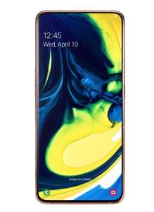 Samsung Galaxy A80 128GB Smartphone | Angel Gold 8GB Ram - £280 Delivered @ Clove Technology