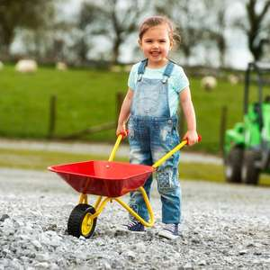 Childrens Metal Wheelbarrow £14.00 Free Delivery for Account Holder From Smyths