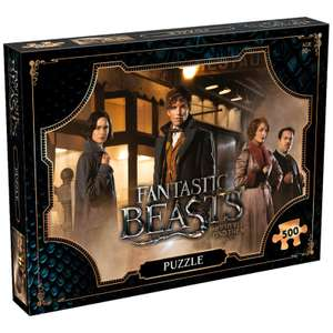 500 Piece Jigsaw Puzzle - Fantastic Beasts Field Edition £8.99 Delivered using code From Zavvi