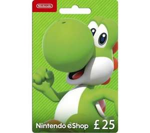 £25 Nintedo eShop Gift Card - £23.75 Delivered @ Currys via eBay