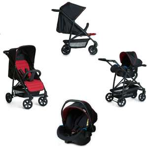 Hauck Rapid 4 Shop n Drive Travel System - Caviar / Tango £99.95 Delivered @ online4baby