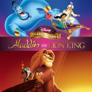 Disney Classic Games: Aladdin and The Lion King £12.74 @ Playstation Network