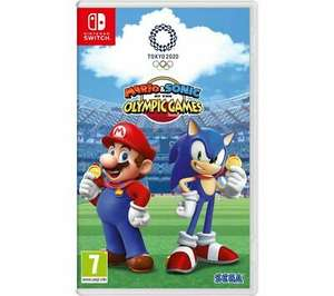 Mario & Sonic at the Olympic Games Tokyo 2020 (Switch) £36.09 Delivered @ Currys via eBay