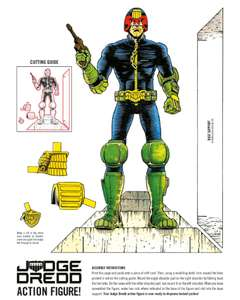 Free, classic 2000AD character cut-out figures to download