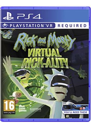 Rick and Morty Virtual Rick-Ality PS4 £16.85 at Base.com