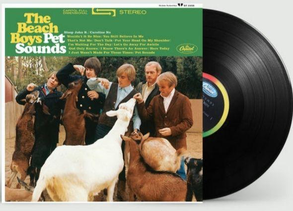 The Beach Boys 'Pet Sounds' 180-gram heavyweight black vinyl LP reissue of 'Pet Sounds' £7.99 + £3.95 delivery @ Universal Music