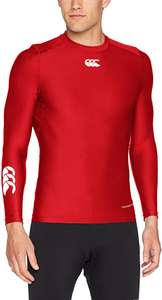 XS Canterbury Men's Thermoreg Long Sleeve Base Layer Top £13.10 (Prime) / £17.59 (non Prime) at Amazon