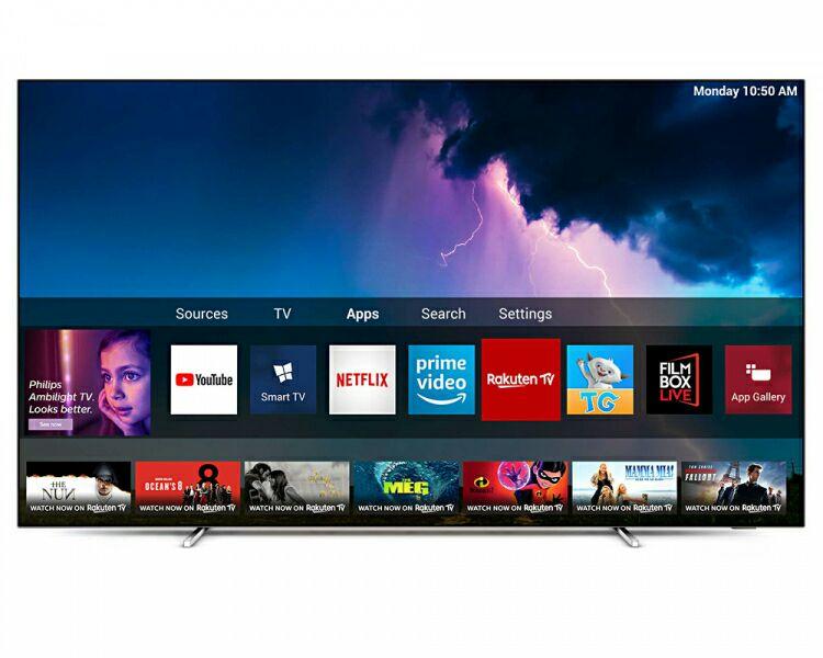 "Philips 55OLED754 55"" 4K UHD OLED Smart TV 5 Year Protection Plan £889 @ Crampton & Moore"