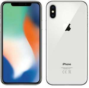 Apple iPhone X Silver- refurbished B+ £358.77 @ cheapest_electrical / ebay