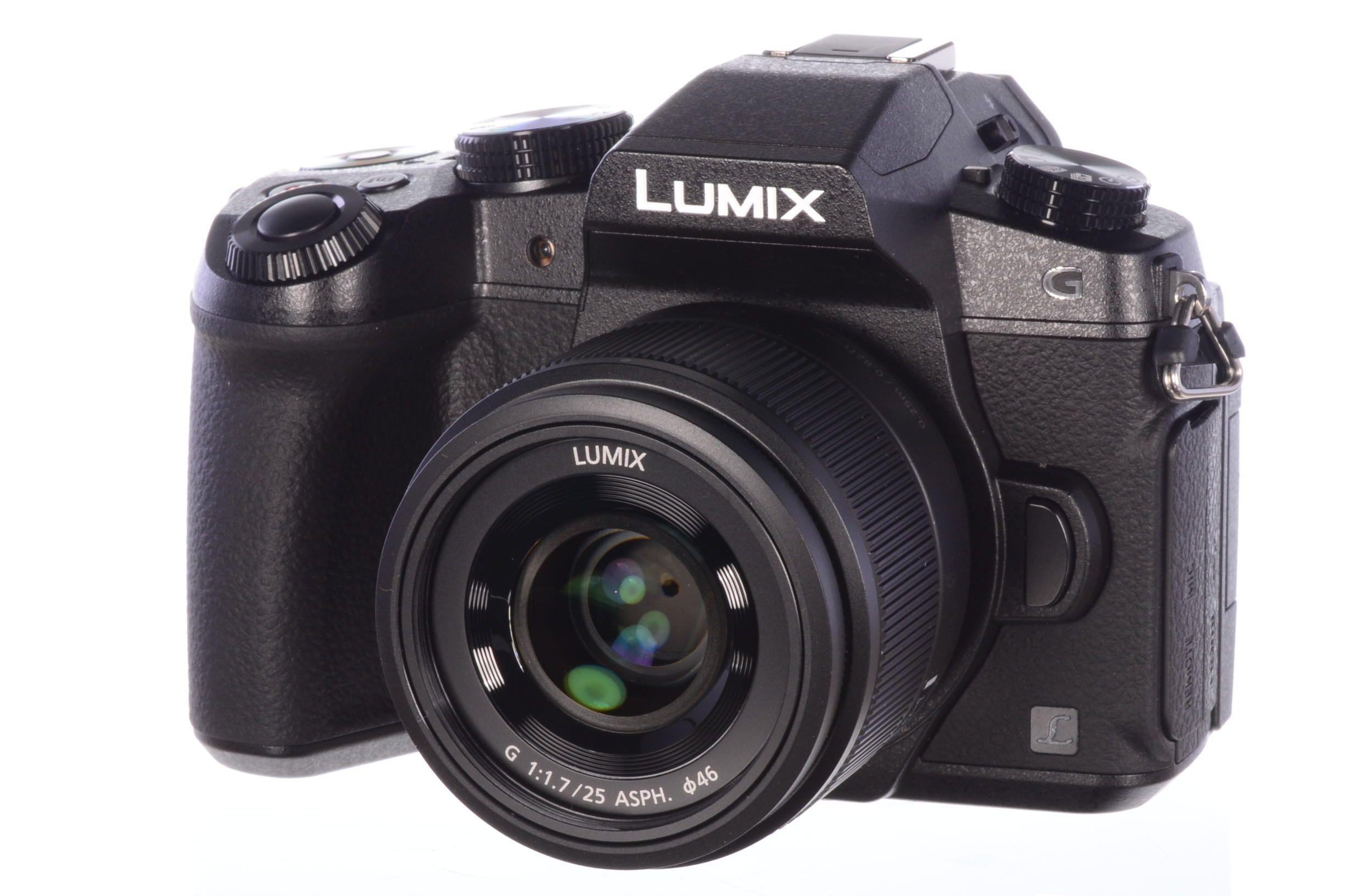 Panasonic Lumix G80 + 25mm f1.7 Lens - £449 @ UK Digital