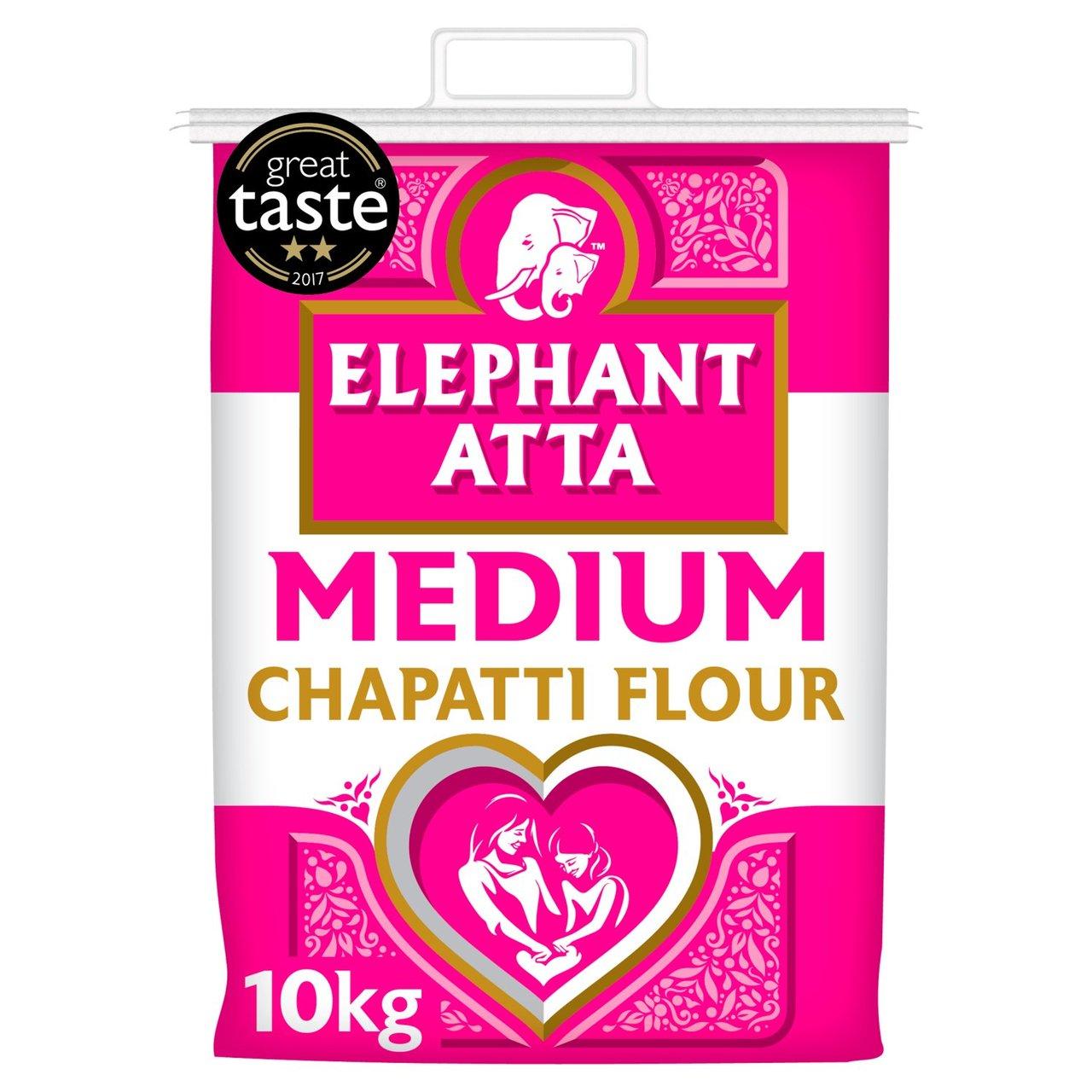 Elephant Atta Medium Chapatti Flour 10Kg £5 @ Morrisons