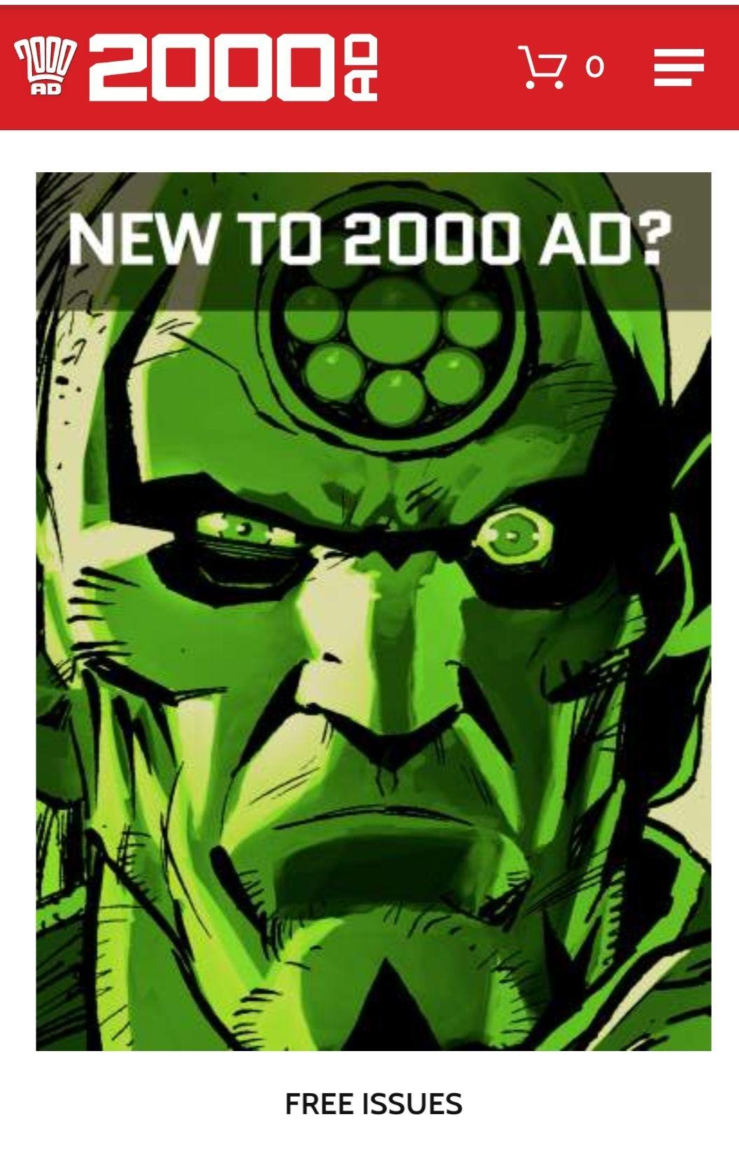 2000 AD 13 free digital comics