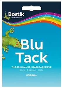Bostik 801103 Blu Tack Handy - £1( prime) / £1.99 (Non prime) @ Amazon