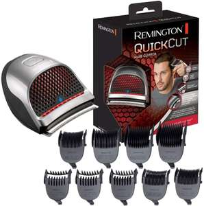 Remington Quick Cut Hair Clippers with 9 Comb Lengths Curved Blade for Rapid Hair Trimming Detailing with Storage Pouch - £31.98 @ Amazon