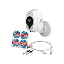 Swann Smart Wireless Indoor/Outdoor HD CCTV Security Camera with Night Vision, Alexa/Google Assistant compatible £89.99 + £3.50 p&p @ Ryman