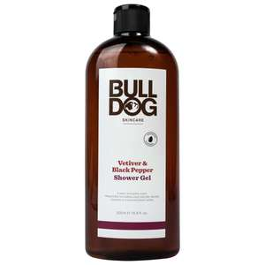 Bulldog Skincare Bulldog - Shower Gel 500Ml £3 3 types to choose from @ Amazon (+£4.49 non-prime)