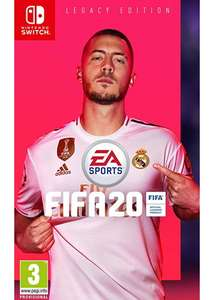 FIFA 20 Legacy Edition (Nintendo Switch) £20.89 delivered at basket at Currys eBay