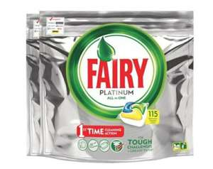 Fairy platinum all in one dishwasher capsule 116 packs £11.38 @ Costco (From 11/05)
