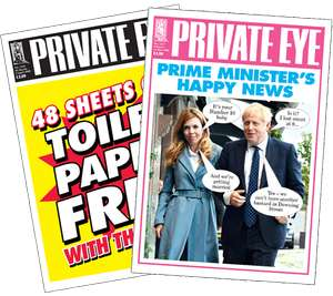 Private Eye - Annual Subscription - £36 for 26 issues @ Subscriptions.co.uk