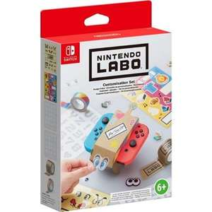 Nintendo Switch Labo Customisation Set £3.95 delivered at The Game Collection