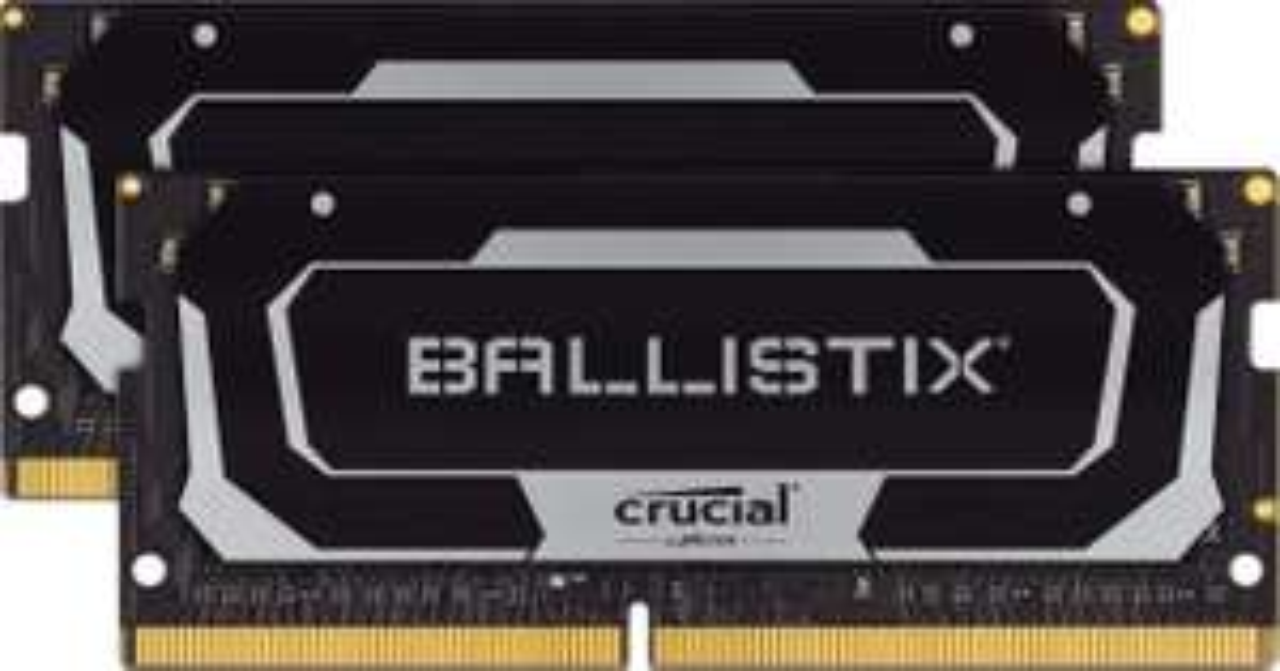 Crucial Ballistix 16GB (2x8GB) SODIMM (Laptop) DDR4 2666Mhz RAM £62.99 @ Amazon
