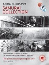 Kurosawa Samurai Collection (blu ray) - £24.99 delivered @ HMV