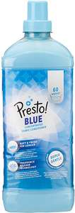 Presto! Fabric Softener Blue, 360 Washes (6 Packs, 60 Each) £10.52 (£9.99 with S&S / + £4.49 NP) at Amazon