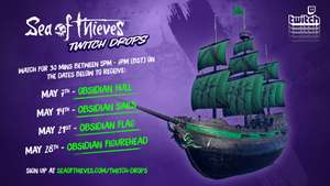 FREE Sea of Thieves in-game cosmetics with Twitch Drops | Thursdays @ 5 PM