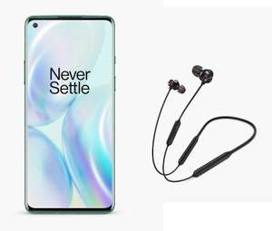 Oneplus 8 12GB 256GB 5G Smartphone ( Glacial Green ) + Free OnePlus Bullets Wireless 2 - £699 delivered @ John Lewis & Partners