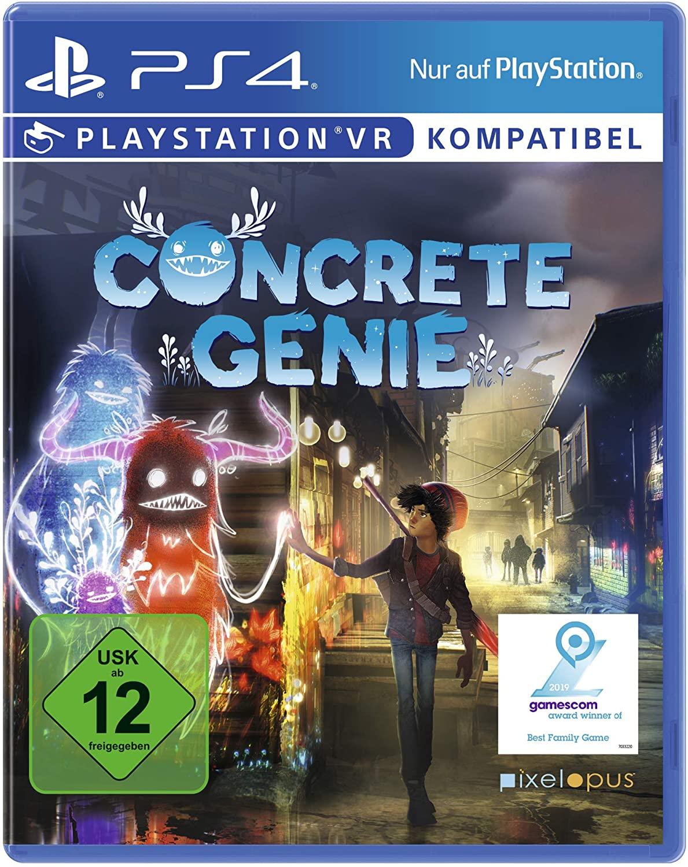 Concrete Genie PS4 - £10.54 (Prime) £14.53 (Non Prime) @ Amazon