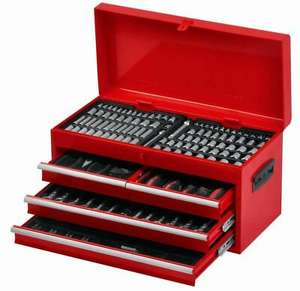 Phaze 275 Piece Tool Chest Set Kit Lock Handle Sockets Bits Screwdriver Pliers £87.50 Delivered @ Halfords / Ebay