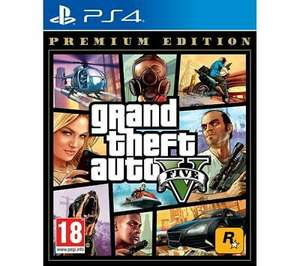 Grand Theft Auto V: Premium Edition (PS4) - £17.09 delivered @ Currys PC World / eBay