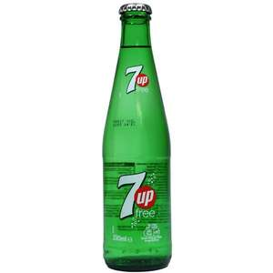 24 x 330ml glass bottles of 7up Free £5.99 each at Heron Foods (Caerphilly)