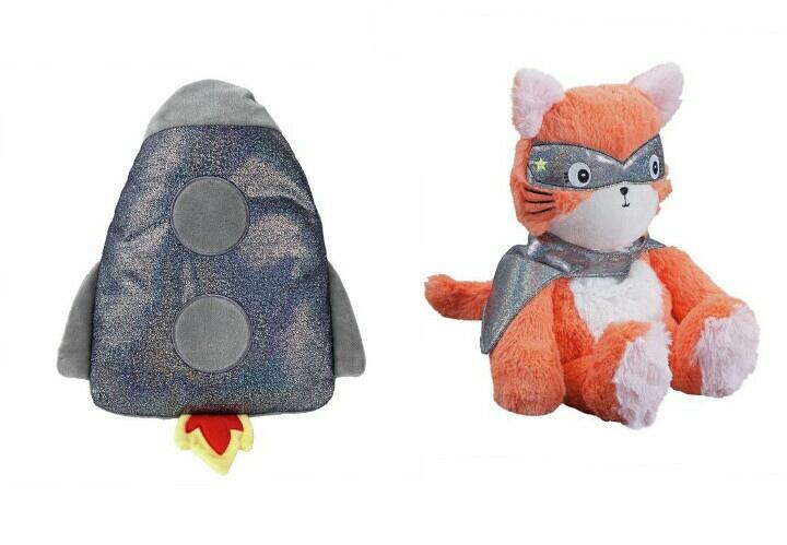 Imagination Station Rocket Hot Water Bottle / Imagination Station Cat Hottie £3 / £6.95 delivered @ Argos - 1 Year Guarantee