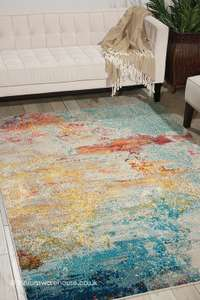 Celestial Breeze Rug 3ft11 x 6ft' £84.15/ 5ft3'x 7ft3'£143.65/ 4ft' £70.55/ 7ft10'x 10ft6' £313.65 W/Code + Free Delivery @ therugswarehouse