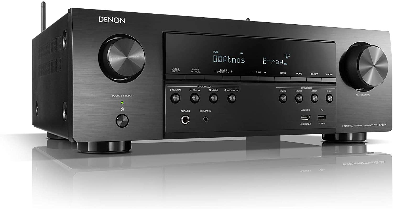 Denon AVR-S750H 7.2-channel AV receiver AV-Receiver Black - £317.60 / £293 with fee free @ Amazon Germany