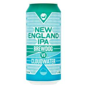 Brewdog vs cloud water 440ml 6.8 abv- One case of 24 cans - £48 (£2 a can) + £5 Delivery ( free delivery if you order 2 cases) @ Brewdog