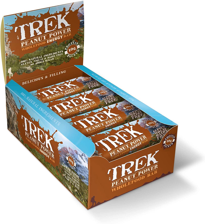 Trek Protein Energy Bar Peanut Power - Pack of 16 Bars - £8.72 Prime / +£4.49 non Prime @ Amazon