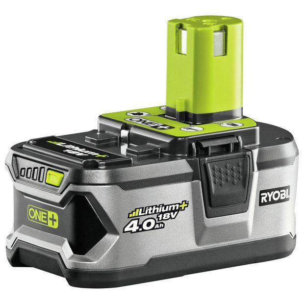 Ryobi RB18L40 18V ONE+ Lithium+ 4.0Ah Battery - £58 @ Amazon