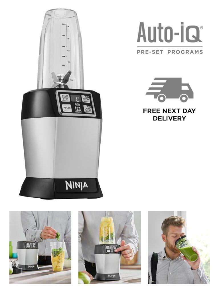 Nutri Ninja Single Serve Blender & Smoothie Maker BL580UK - £79.99 delivered @ Ninja Kitchen
