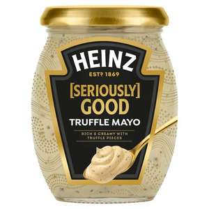 Heinz Seriously Good Truffle Mayonnaise 260g, 69p at Poundstretcher Crystal Palace