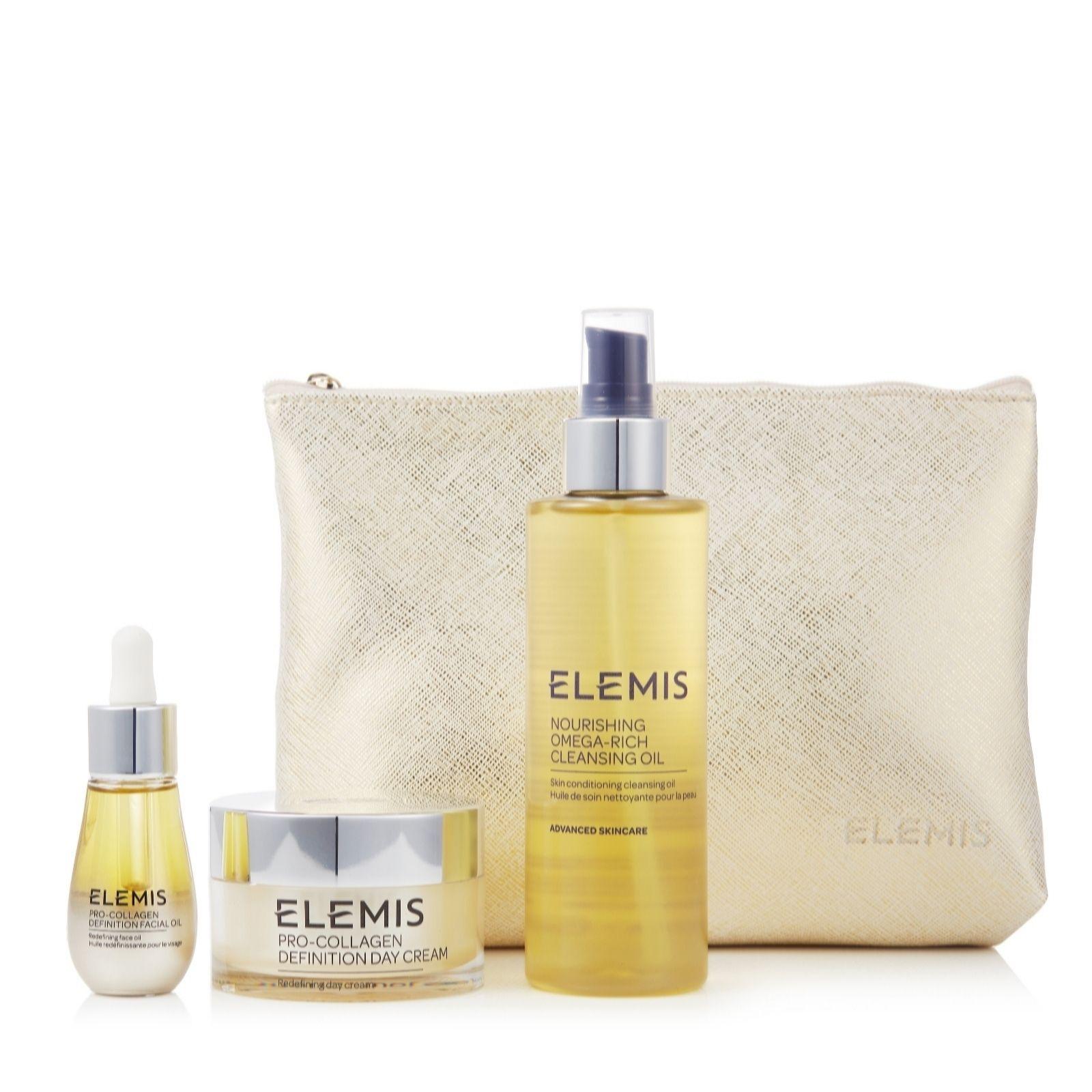 Elemis Pro-Collagen Definition 3 Piece Essentials Collection - £66.96 + £3.95 del at QVC