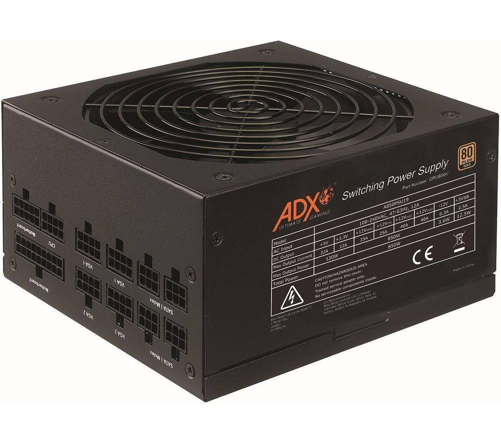 ADX Power W850 Modular ATX PSU - 850 W - £75.99 at Currys ebay
