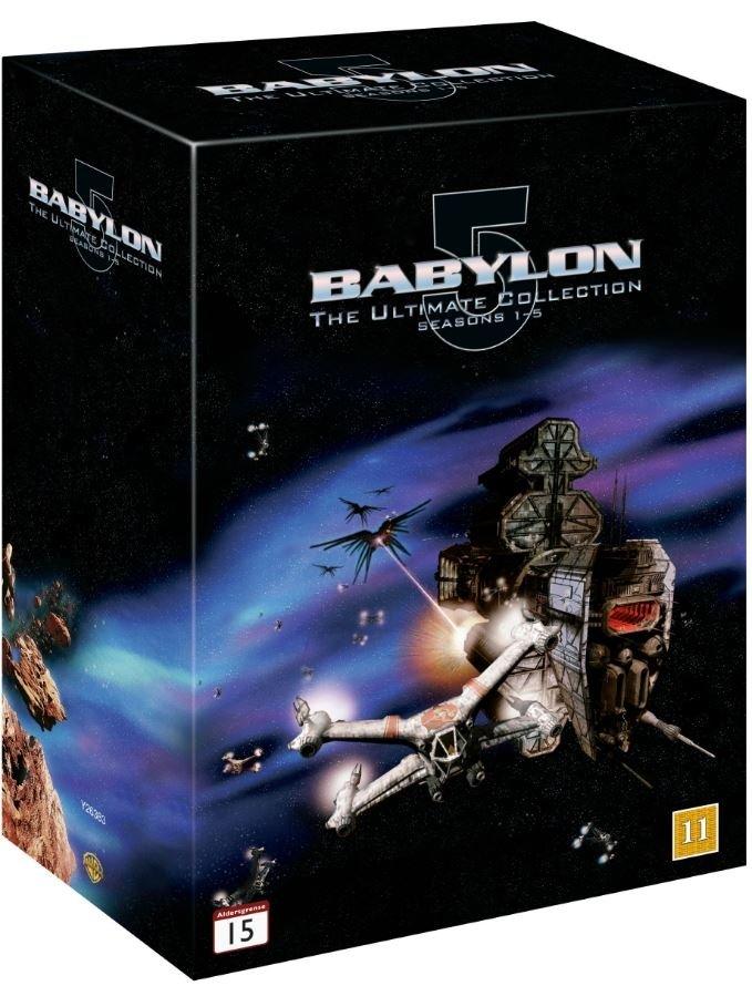 Babylon 5: Complete Box - Season 1-5 - DVD, £24.99 at Coolshop