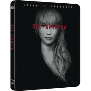 Red Sparrow (Blu-ray) Limited Edition Steelbook £5.99 delivered with code @ Zavvi
