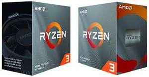 Ryzen 3 3100 £99.99 & 3300x £114.99 Available to Preorder from Amazon
