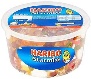 Haribo Starmix Party Size Tub 1kg £5 (+ £4.49 NP) at Amazon
