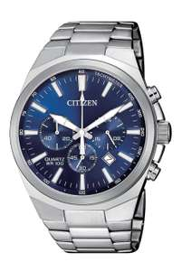 Citizen Men's Chronograph Stainless Steel Bracelet Watch AN8170-59L - £79.99 + £3.95 delivery at Argos