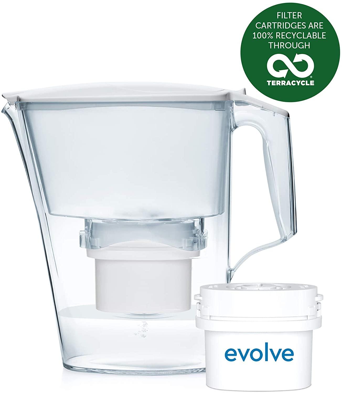 Aqua Optima Liscia 2.5 litres Water Jug + 1 Evolve 30 Day Filter, £7.99 at Amazon (+£4.49 non prime)